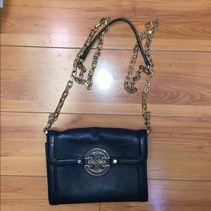 Tory Burch Black Leather Cross Body